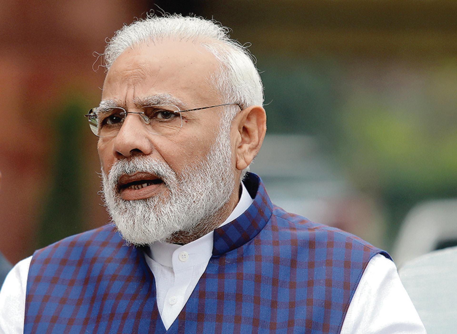 莫迪政府遏制中資,將令印度經濟雪上加霜。(路透社)