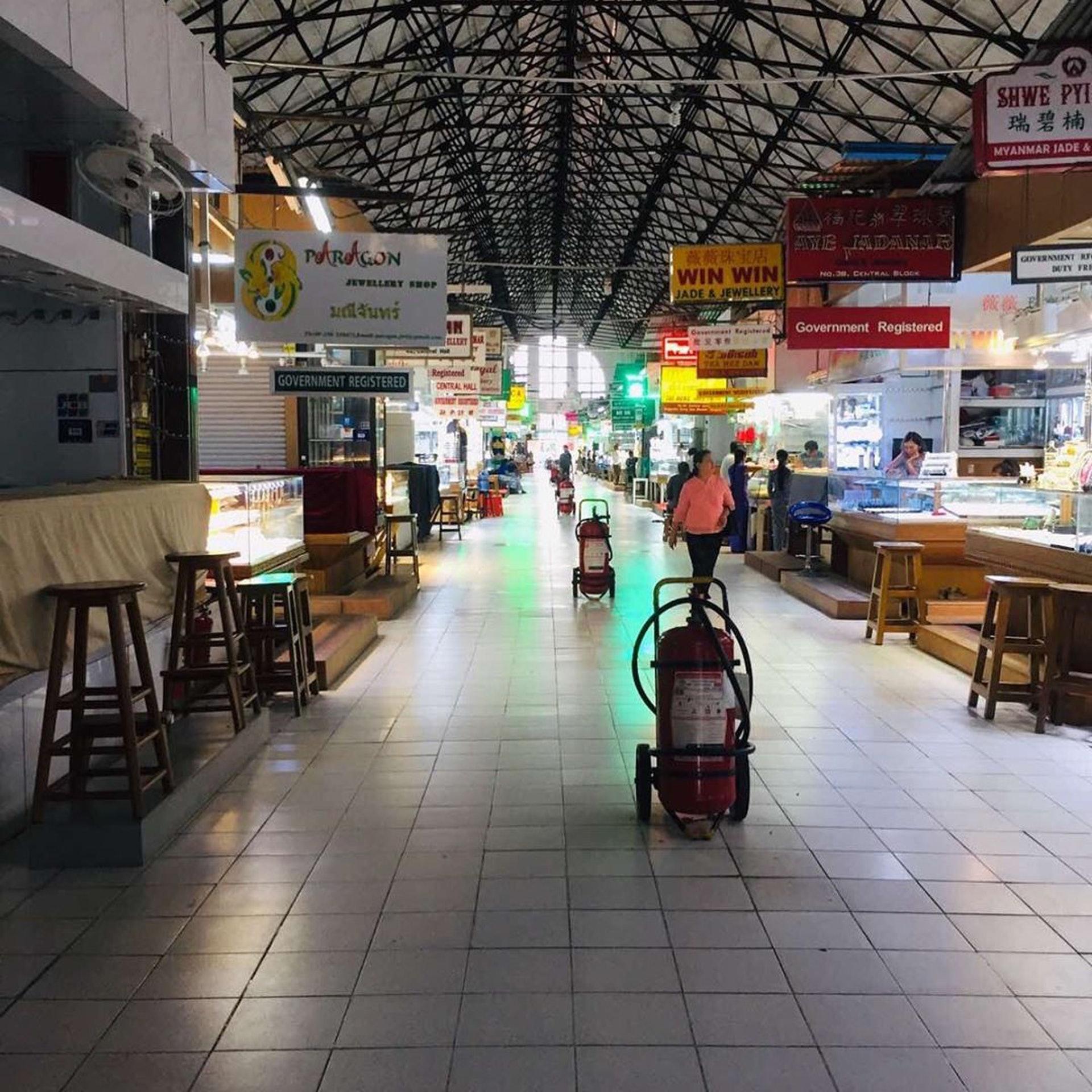 緬甸─仰光(Ig@haricobogyokeaungsanmarket)