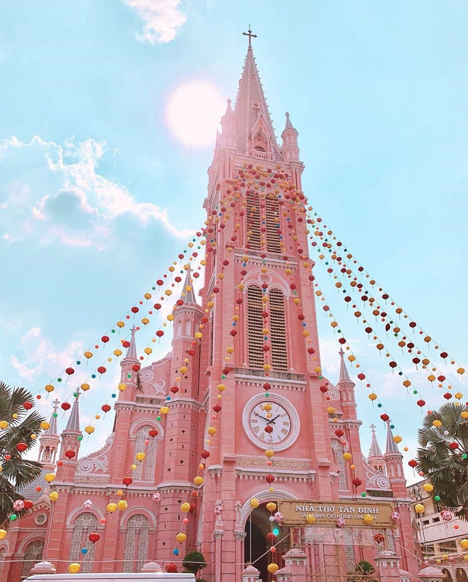 越南─粉紅教堂Tan Dinh Church(Ig@gapyear.travel)