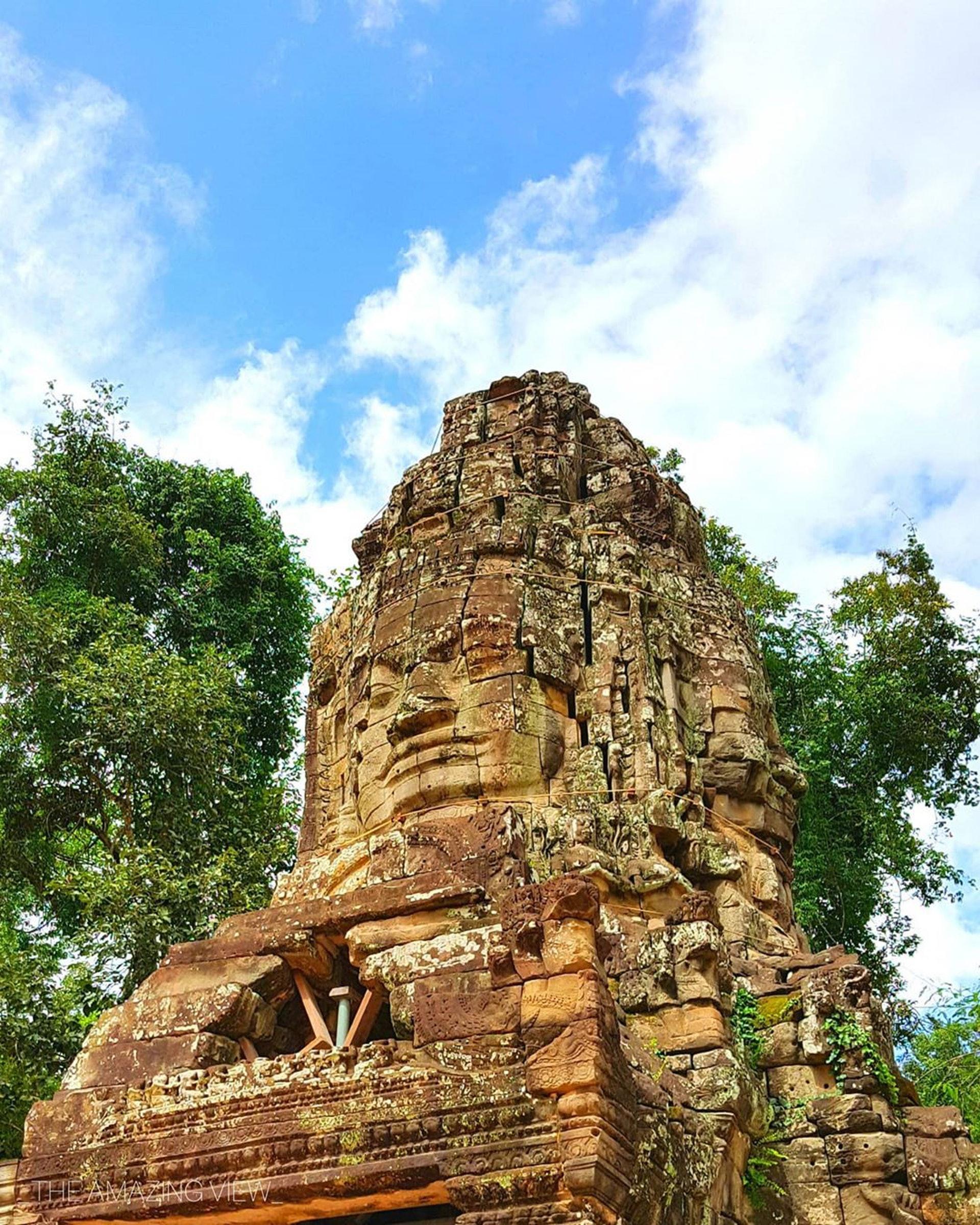 柬埔寨─塔普倫寺(Ig@_theamazingview)