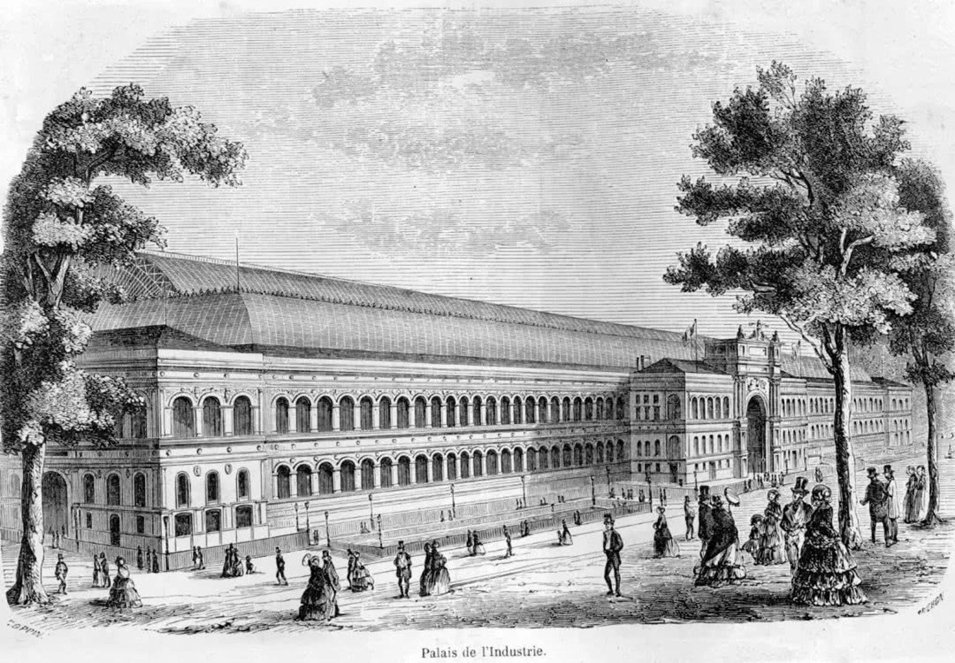 1855年巴黎世界博覽會(網上圖片)