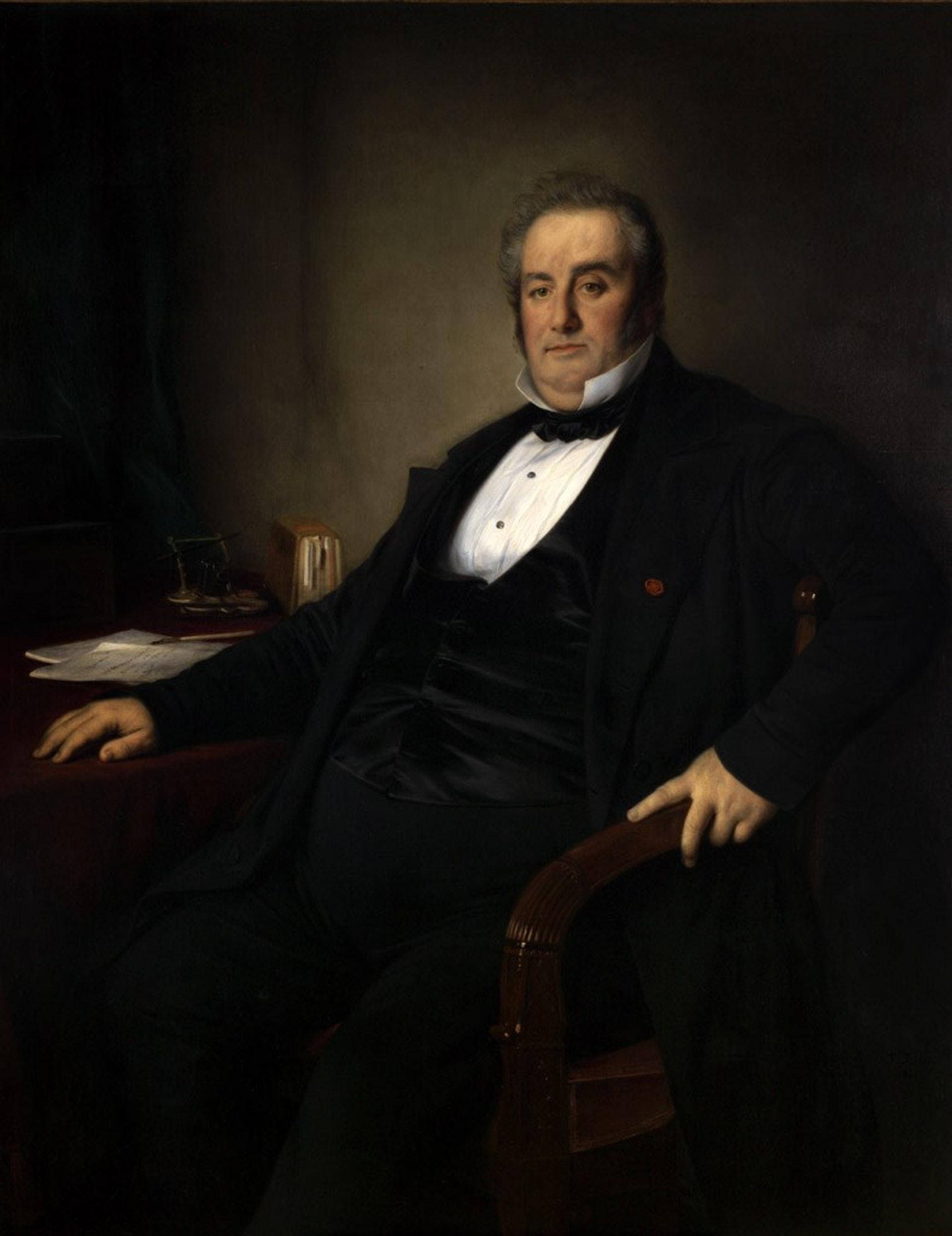 Lodi-Martin Duffour-Dubergier除了是Bordeaux Wine Council的主席,也曾是波爾多的市長(圖片來源:Wiki)