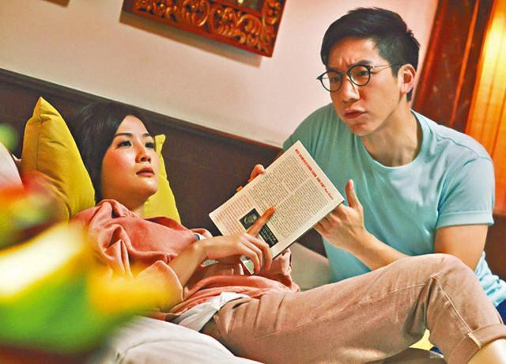 柳俊江首登大銀幕便與「阿Sa」蔡卓妍在電影《雛妓》(2014)合作,飾演對方男朋友,盡顯好男人一面。(劇照)