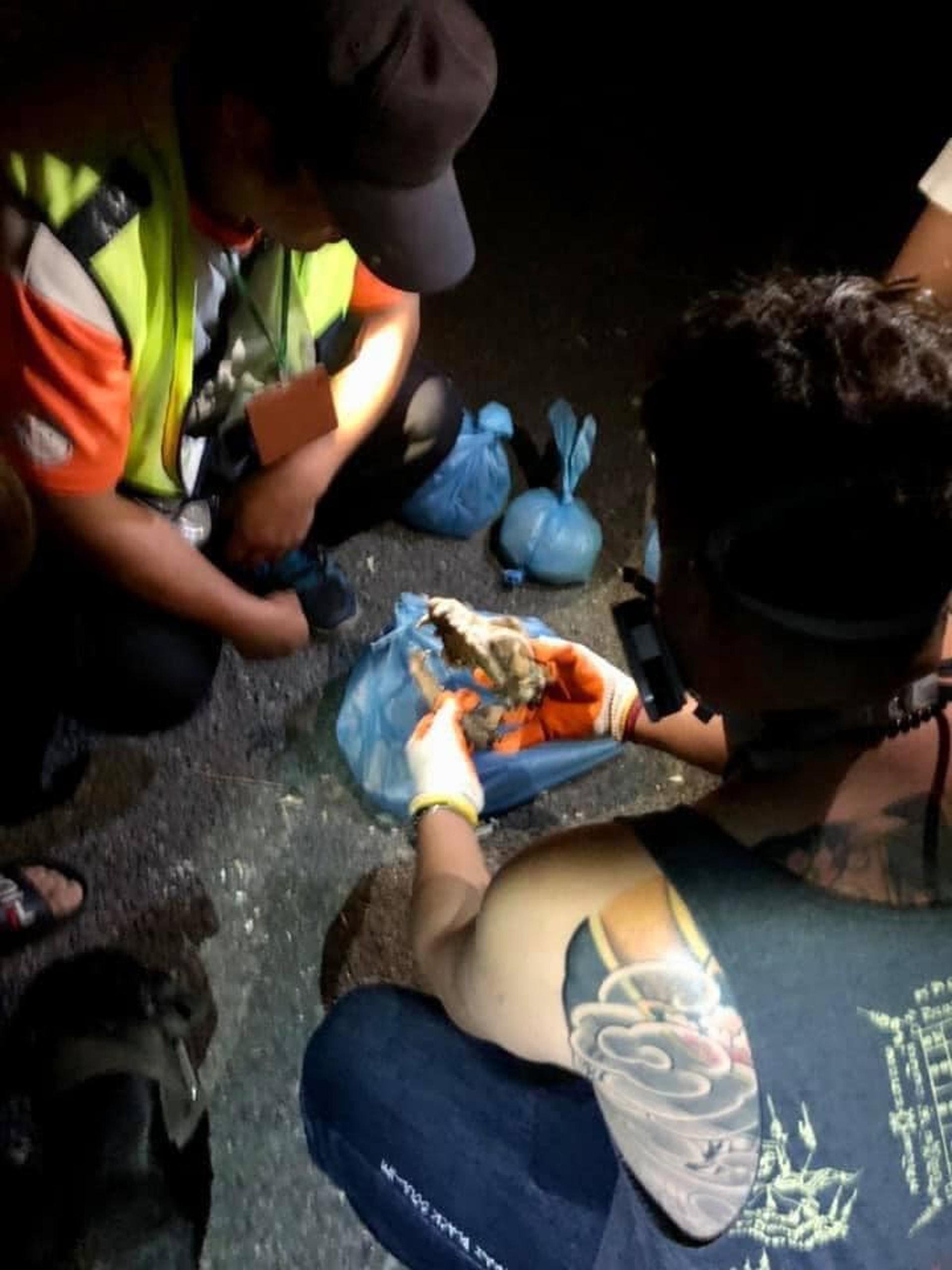 愛狗人士在台灣苗栗發現疑似屠狗場。(Facebook@新竹市浪愛傳遞貓狗TNVR協會)