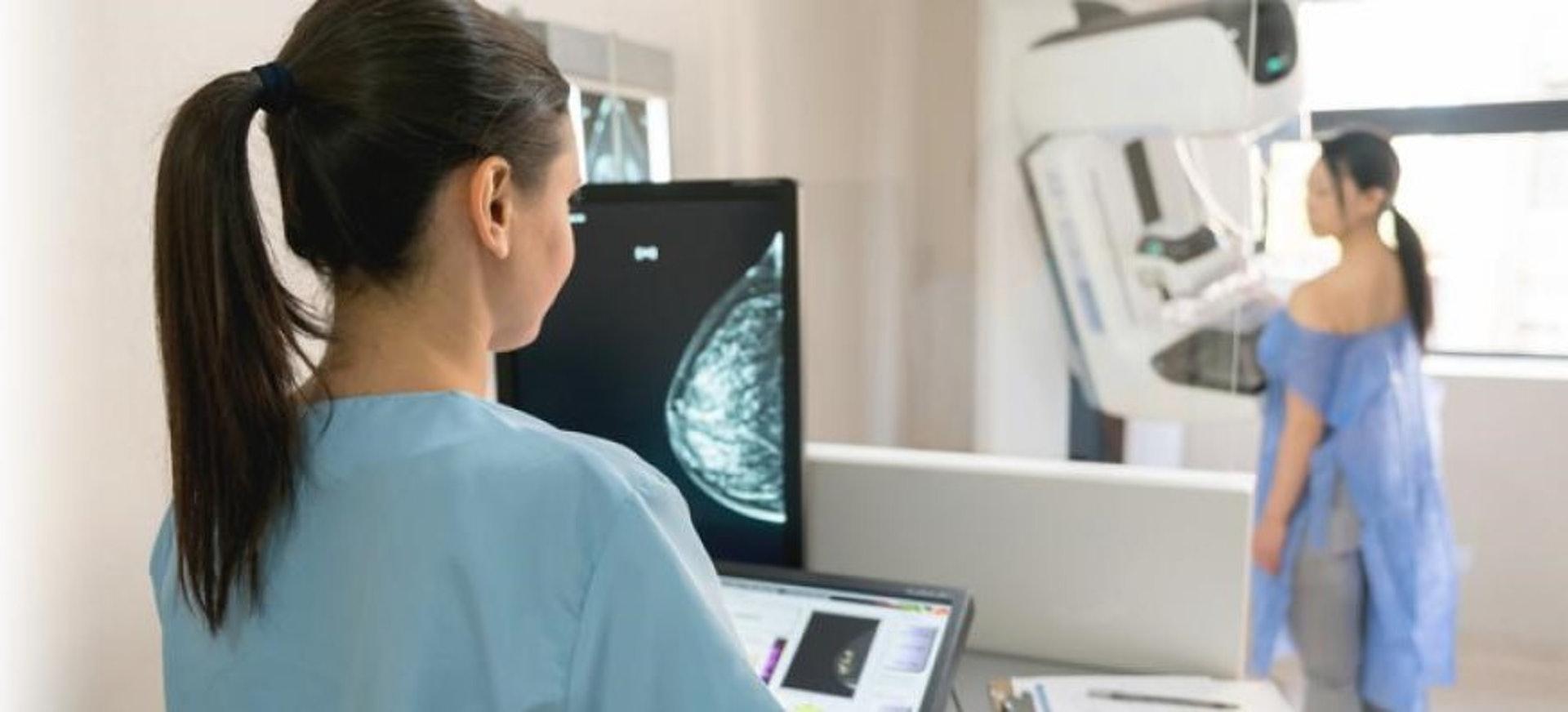 乳房X光造影檢查。(圖片:iStock)
