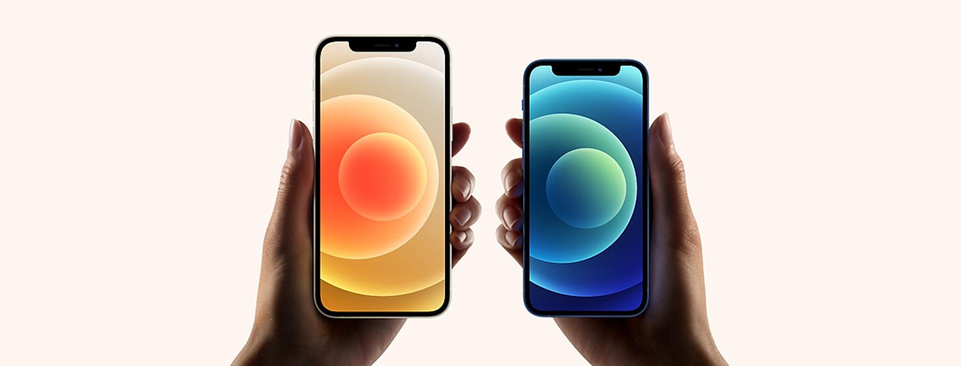 iPhone 12/12 mini(Apple官網)