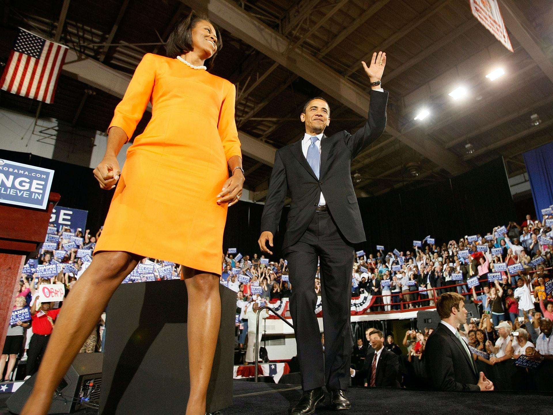选举结果出众,奥巴马的竞选团队也应记一功。(Getty)