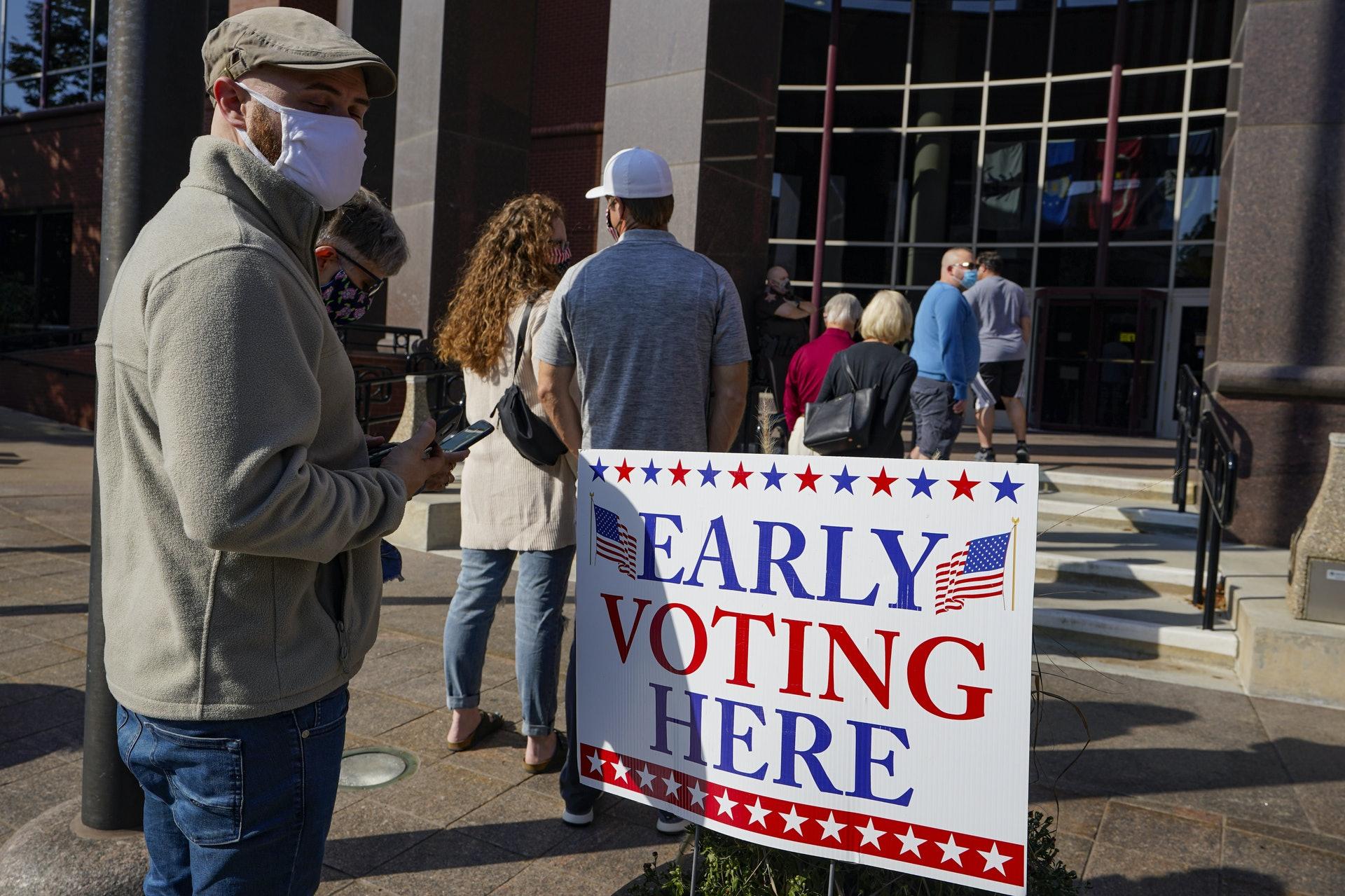 今届大选印州最终会支持民主党还是共和党?(美联社)