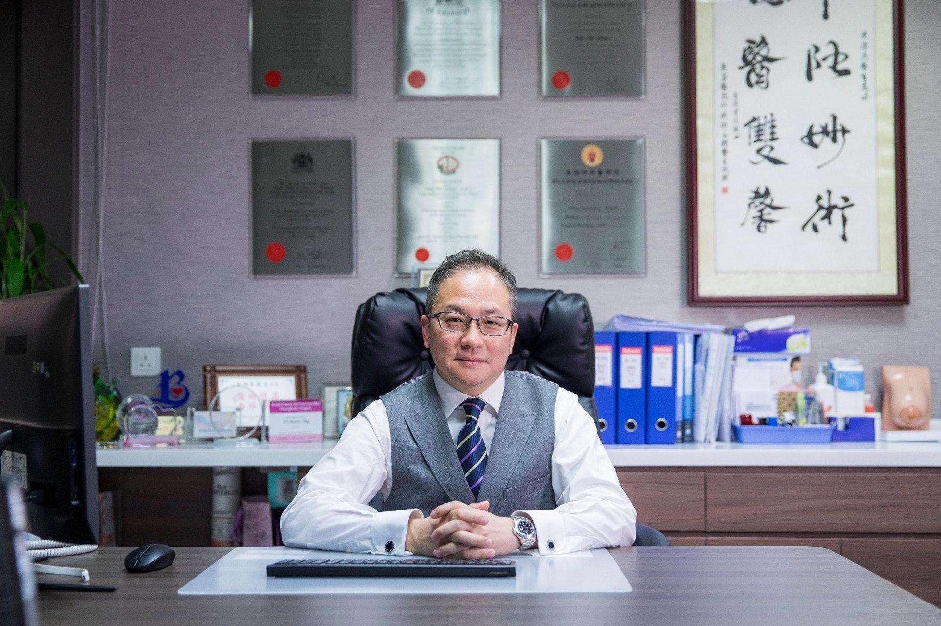 乳腺外科專科醫生英偉亮(撰稿人授權提供)