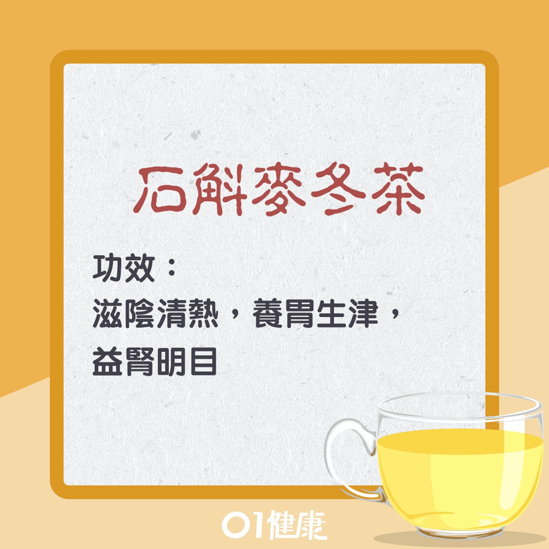 石斛麥冬茶(01製圖)
