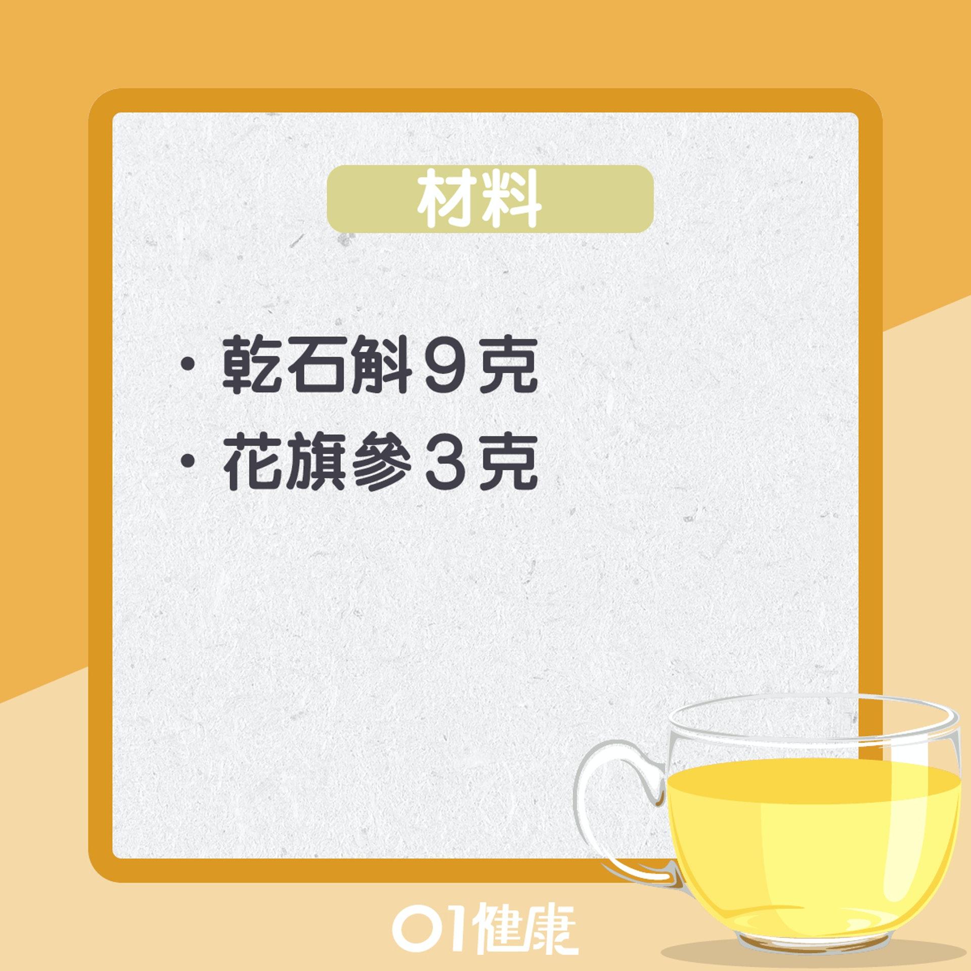石斛花旗參茶(01製圖)