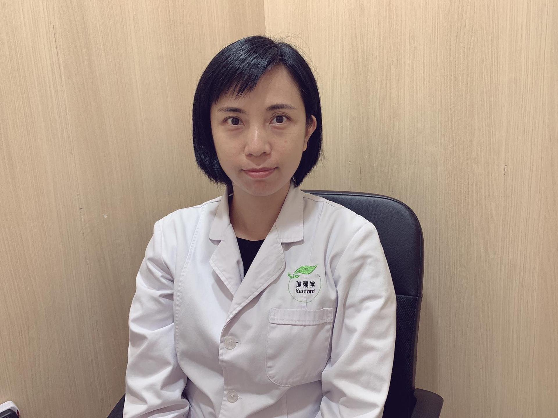 健福堂中醫診所廖瑾璞註冊中醫師(受訪者提供)