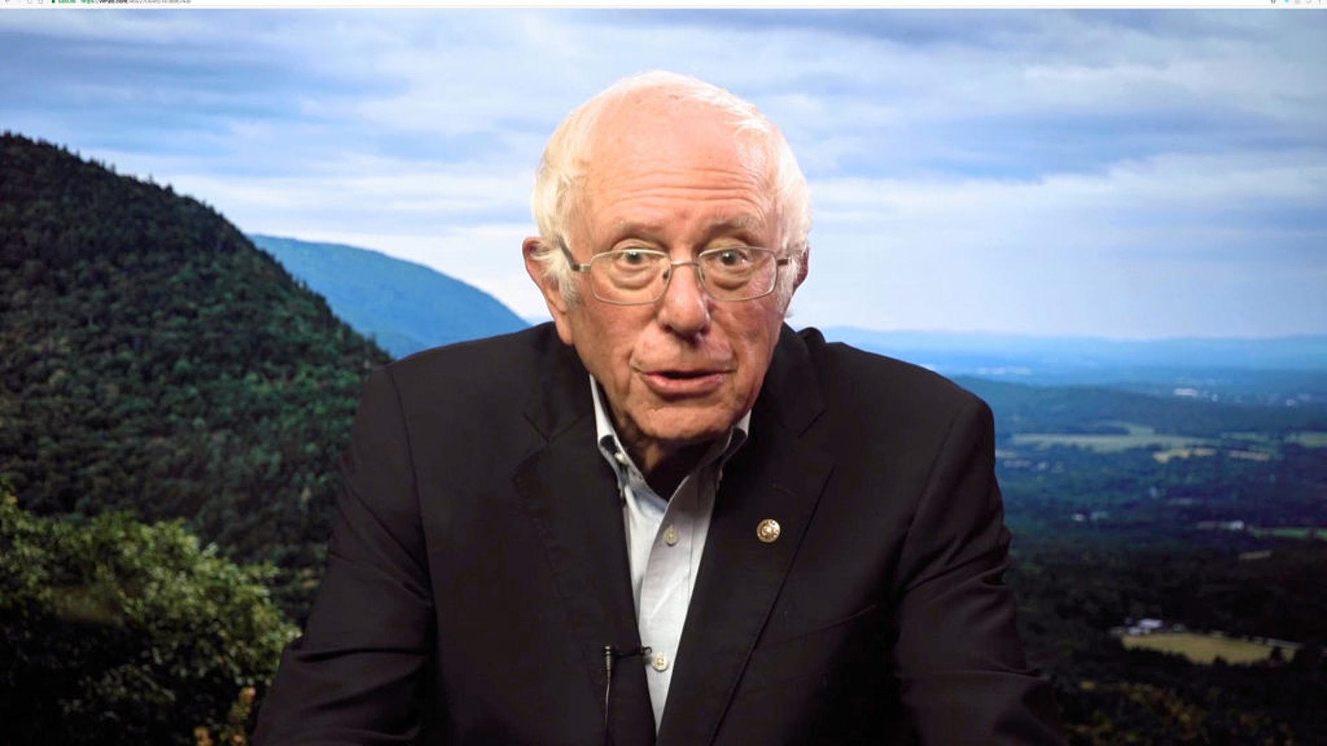 拜登內閣人選7:圖為美國佛蒙特州參議院桑德斯。他曾兩度參加民主黨初選,不過同樣鎩羽而歸。左傾立場鮮明的他,倘若真的成為美國勞工部長,可能會為美國勞工市場帶來頗大的轉變,而這或許並非一些黨內人士或商家可接受。圖為他2020年9月26日以視像方式出席一個與女性賦權有關活動。(Getty)