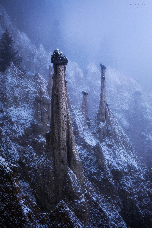 這張攝於意大利,名為Alien Landscape。(由受訪者提供/Kelvin Yuen攝)
