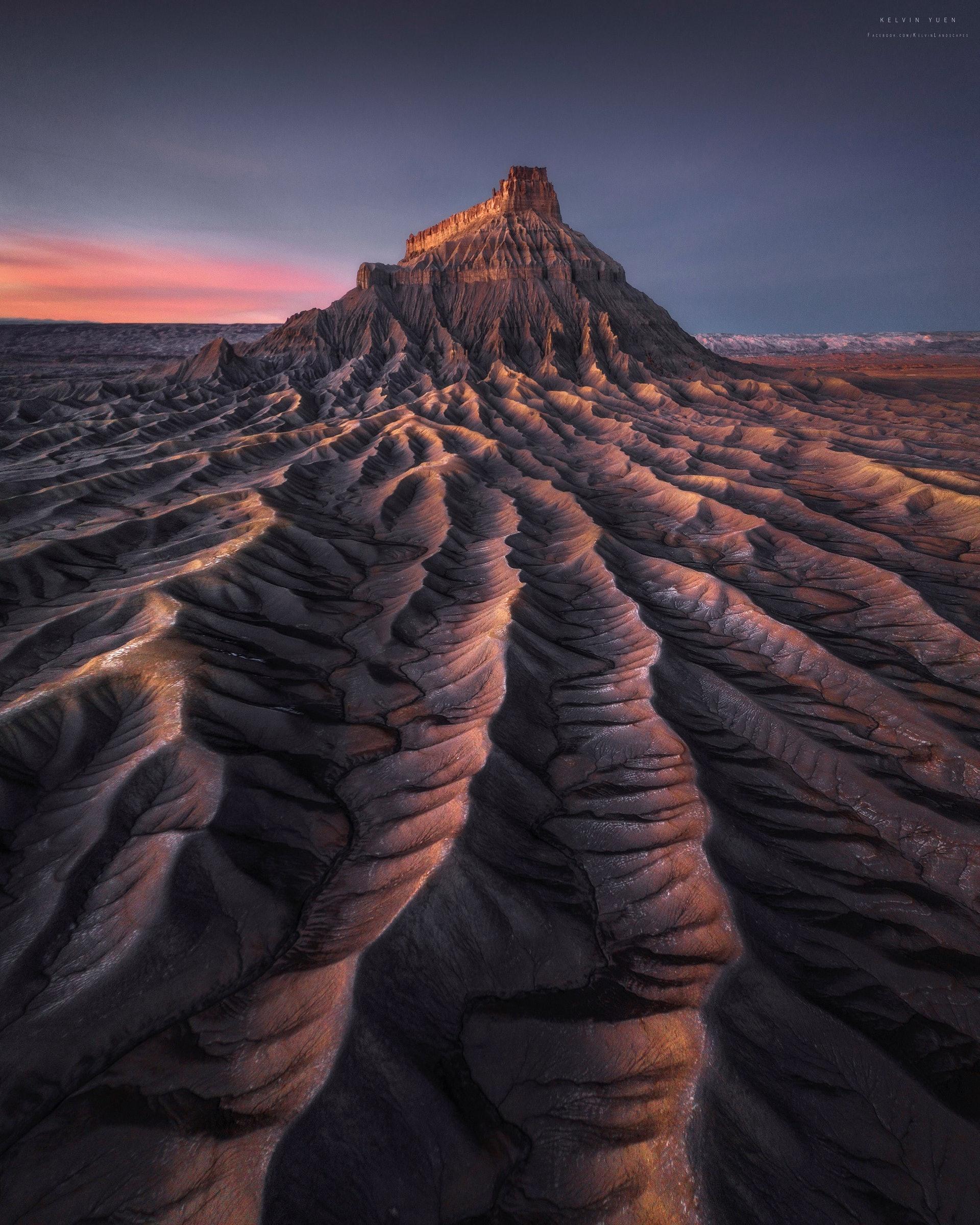 這張照片攝於美國圓頂礁國家公園,名為Mars。(由受訪者提供/Kelvin Yuen攝)