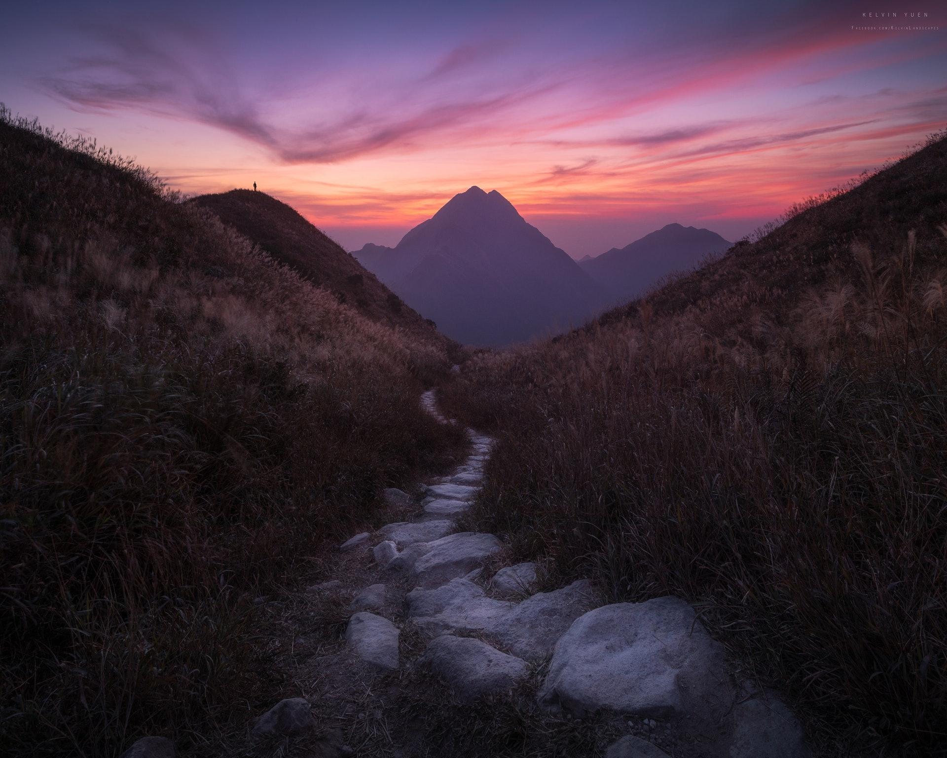 大東山。(由受訪者提供/Kelvin Yuen攝)
