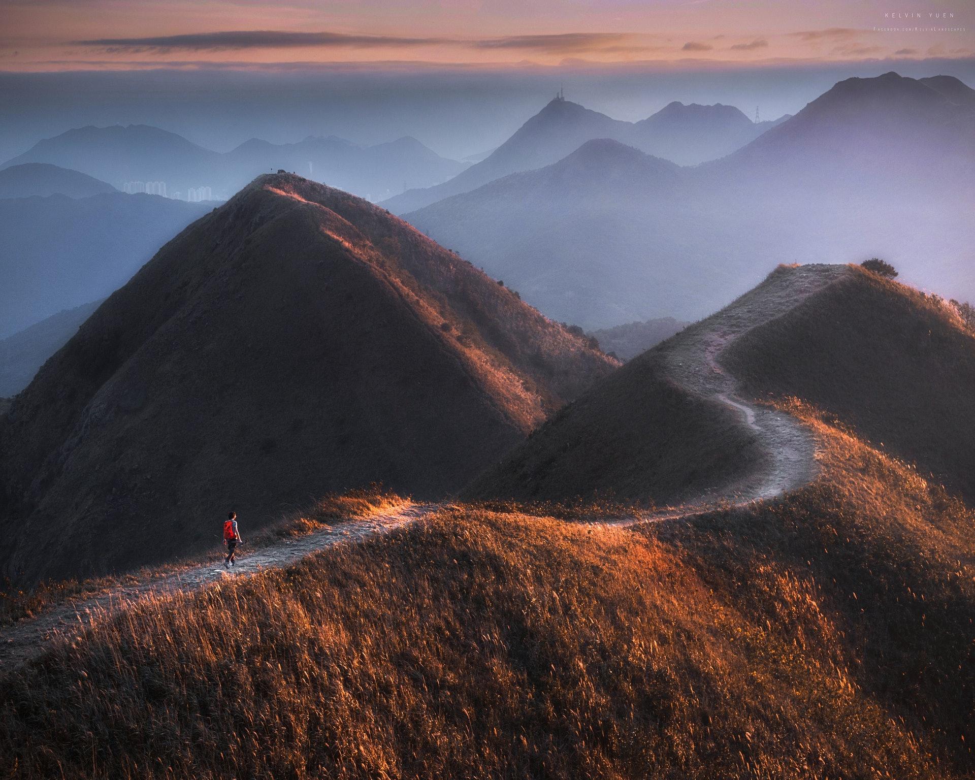 Kelvin鏡頭下的馬鞍山。(由受訪者提供/Kelvin Yuen攝)