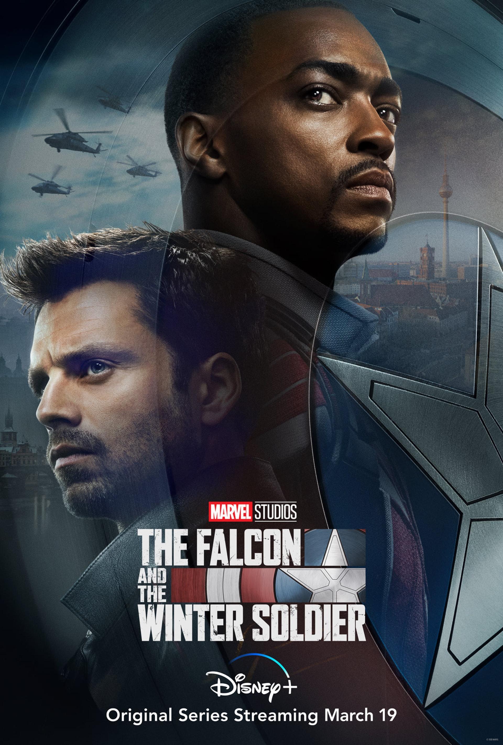 今日再公開首預告《The Falcon and The Winter Soldier》,落實出年3月19日Disney+上架。(IG@Marvel Studios)