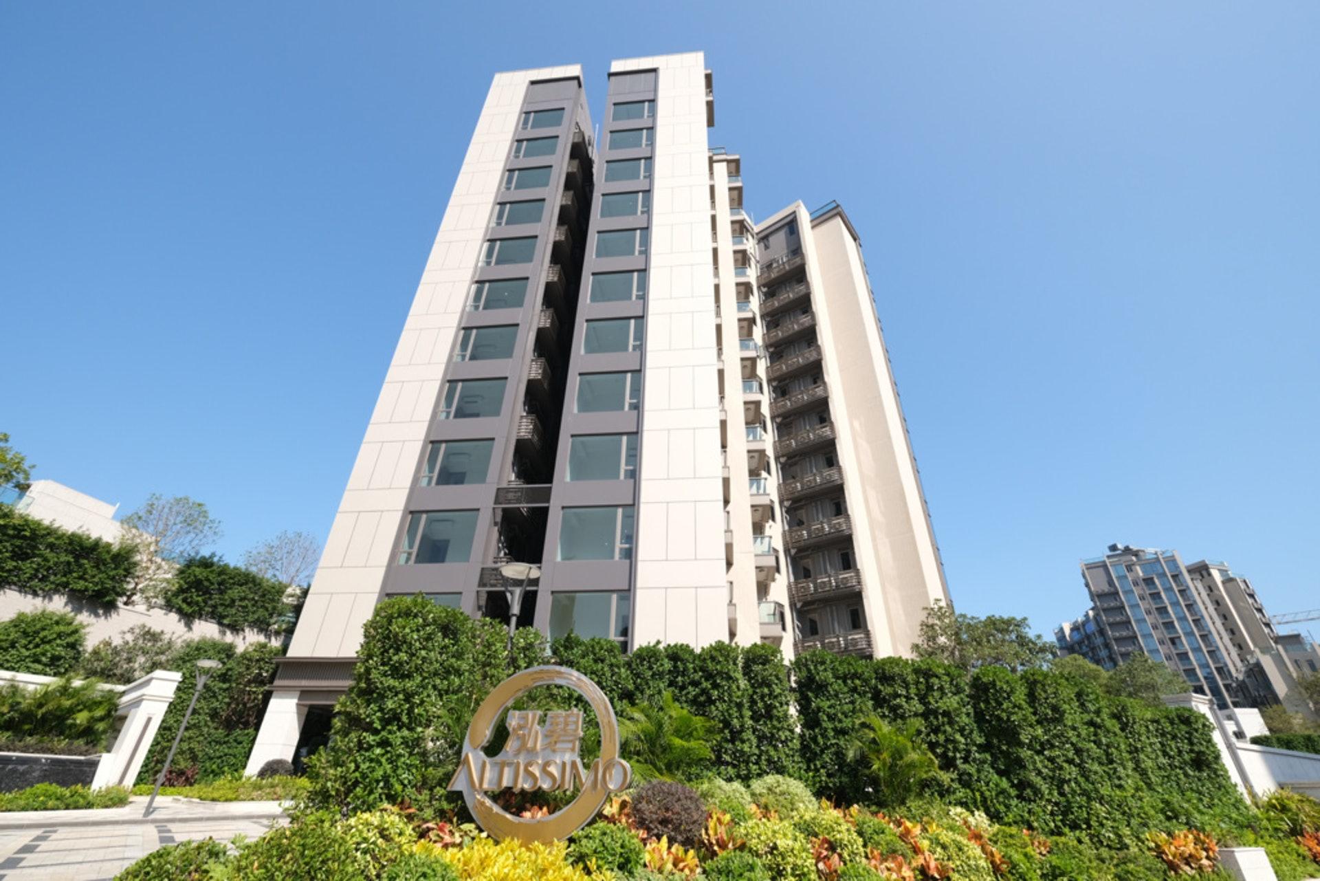 泓碧位於耀沙路11號,提供547伙,間隔包含一房至四房。(盧翊銘攝)
