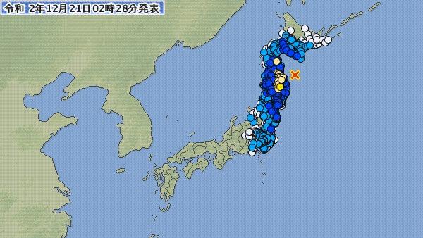地震 青森