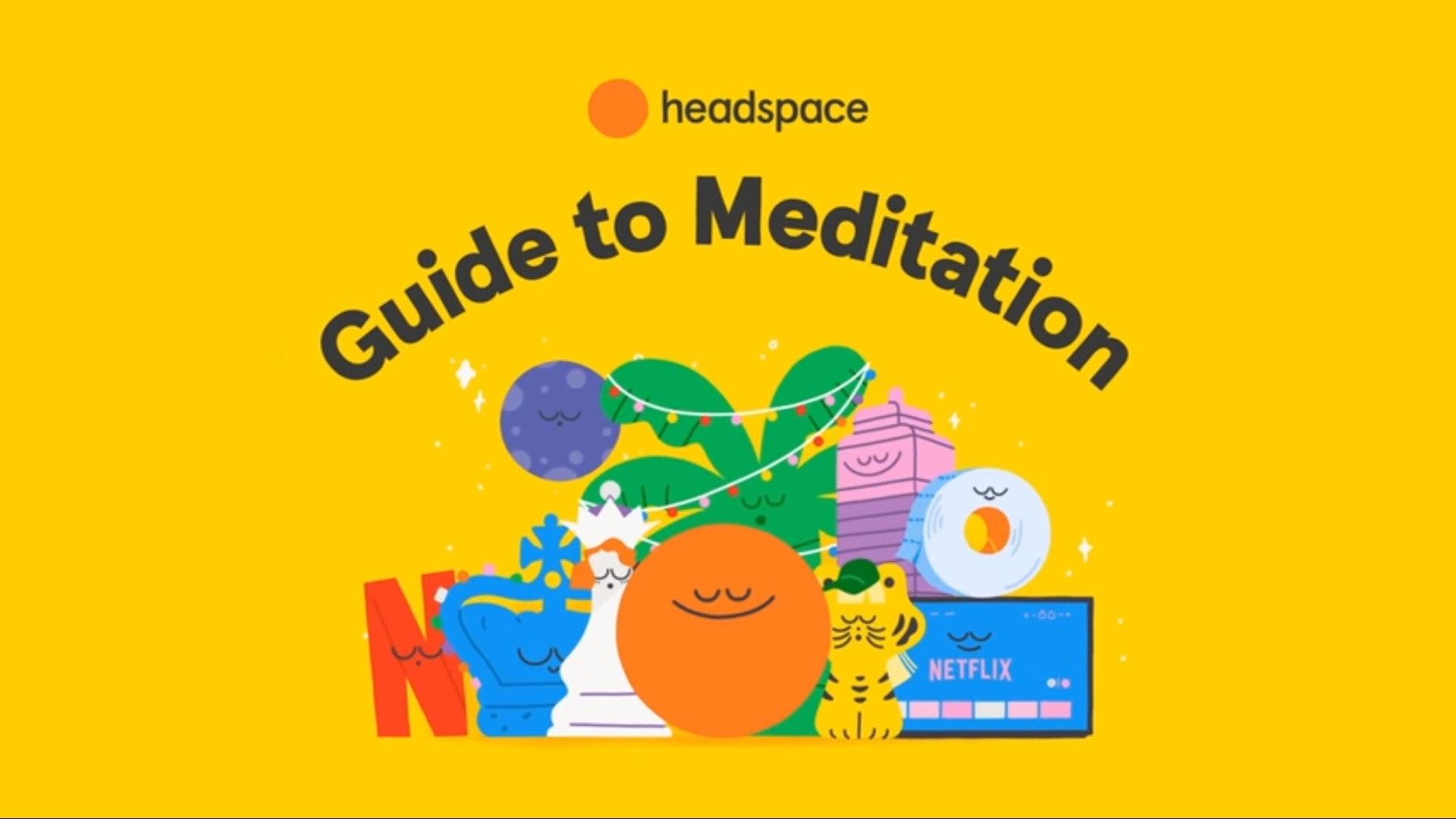 《Headspace 冥想指南》適合大家放鬆心情,以冥想去展開減壓健腦。(影片截圖)