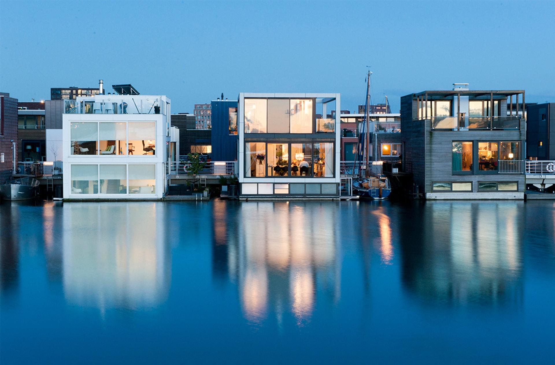 Ijburg漂浮屋(Water Studio)