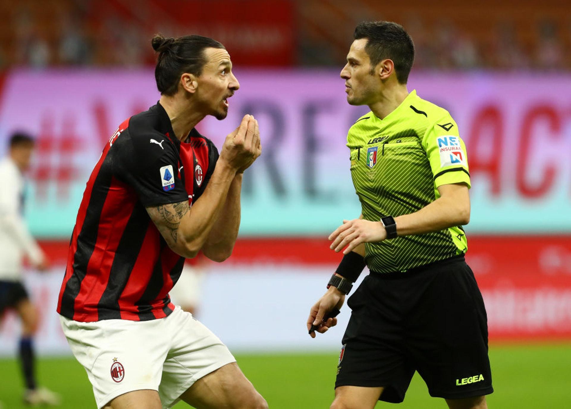意甲:AC米蘭0:3阿特蘭大。(Getty Images)