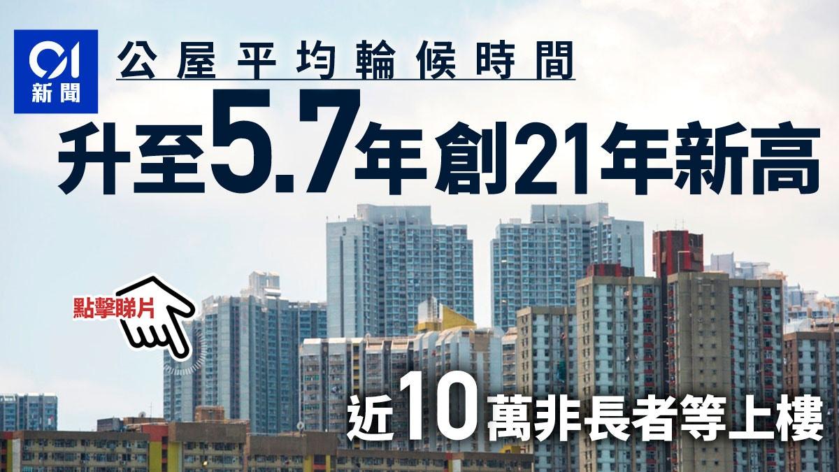 兩成公屋申請者為新移民單身申請者入息較兩年前急跌一成|香港01|社會新聞