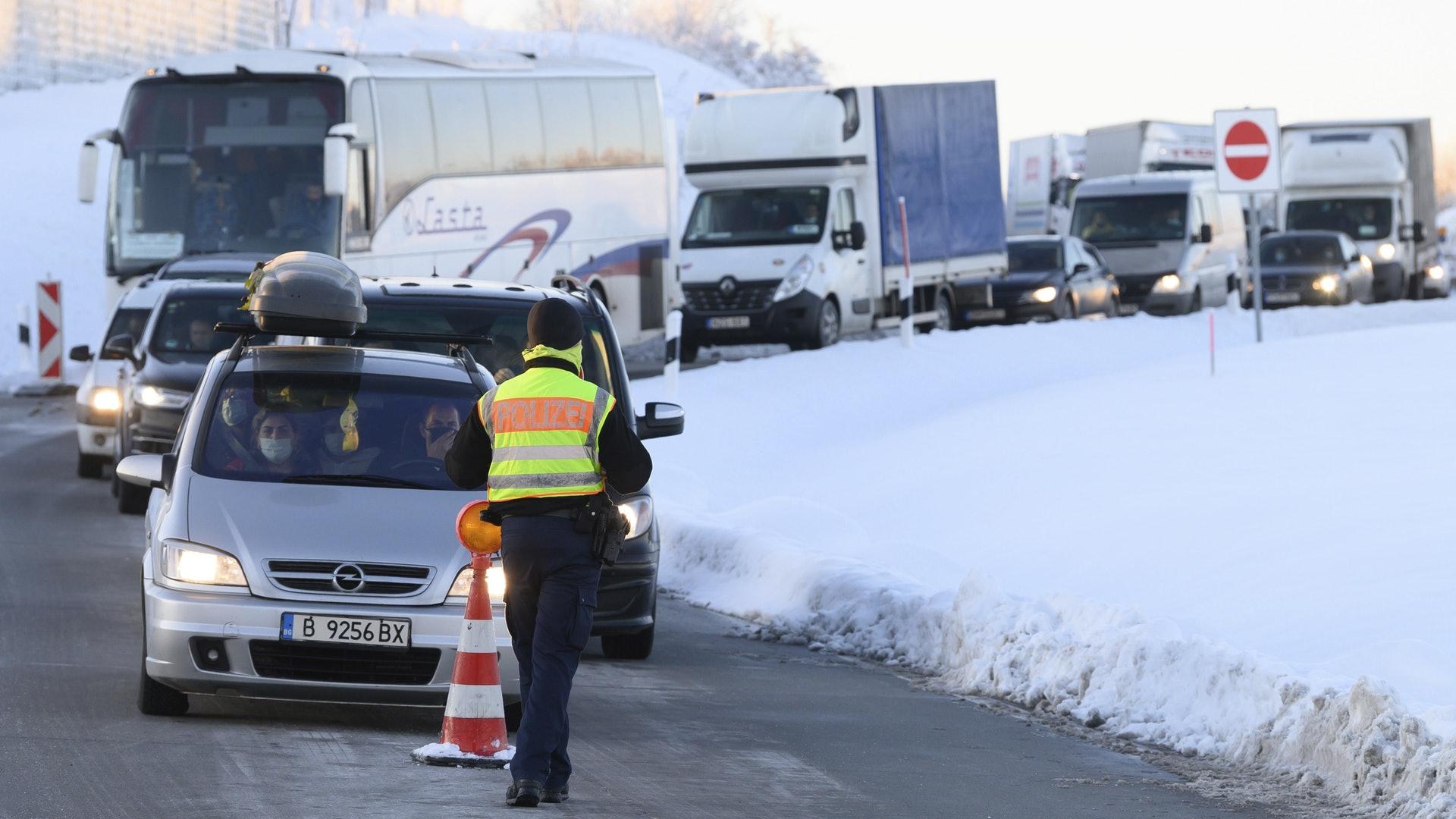 德國為防變種病毒株傳播 局部關閉與捷克及奧地利邊境