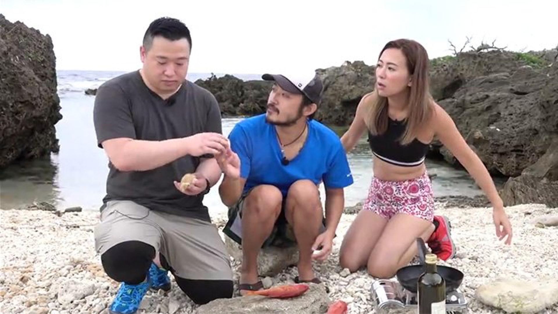 曾國猷曾與梁芷珮主持TVB旅遊節目《超級台灣任務》,惜外界反應平平。(網上圖片)