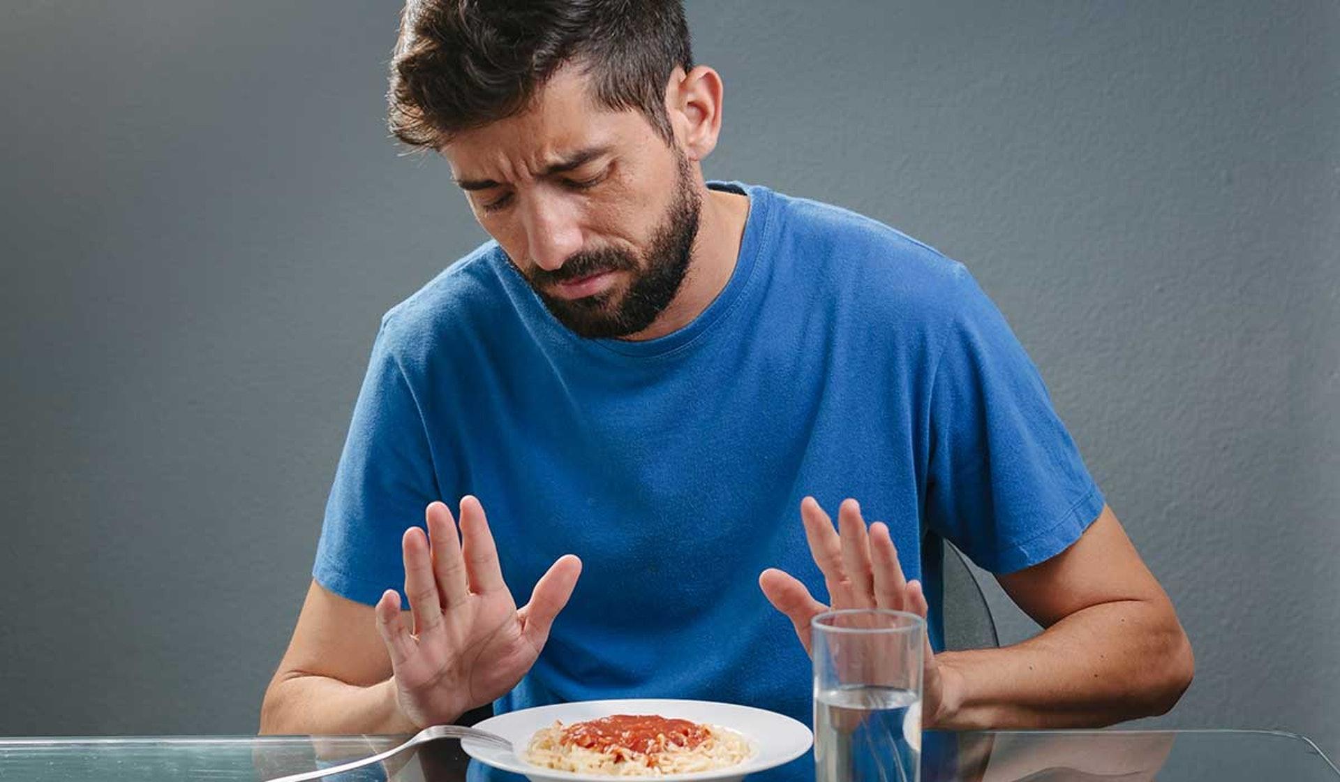 胃癌初期症狀不明顯,可留意是否因食慾不振以致體重急降。(圖片:selecciones)