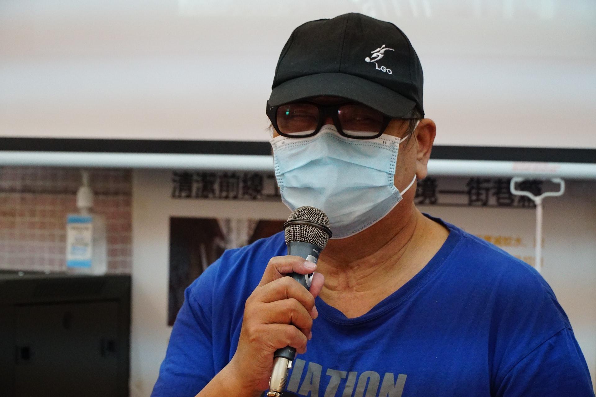 現時64歲的阿華坦言,強積金的存款不多,最多只能支撐一年。他又認為若想在香港退休是一個夢,「你做得一日得一日,根本唔敢諗退休,香港嘅退休保障係一個笑話」。(曾鳳婷攝)