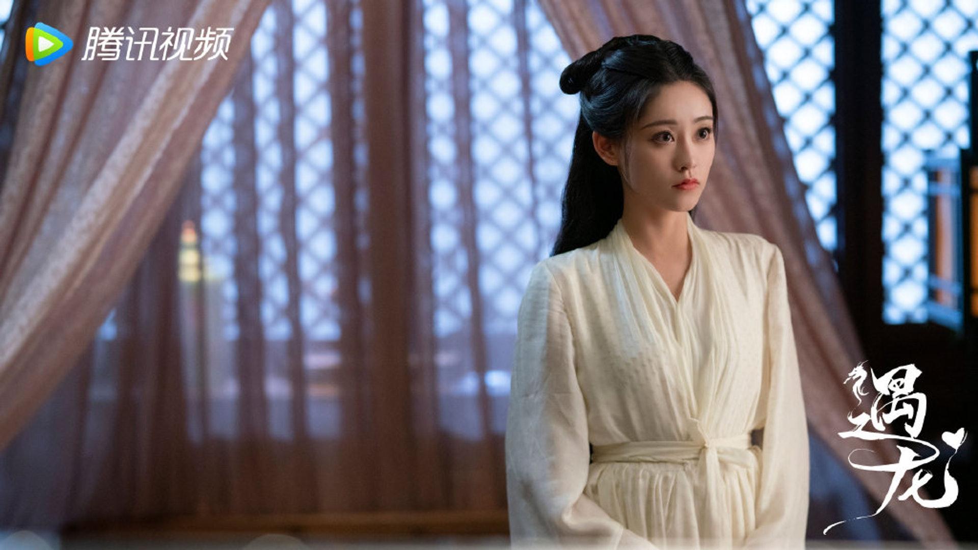 祝緒丹終於擔大旗,在新劇《遇龍》演出女主角流螢。(劇照)