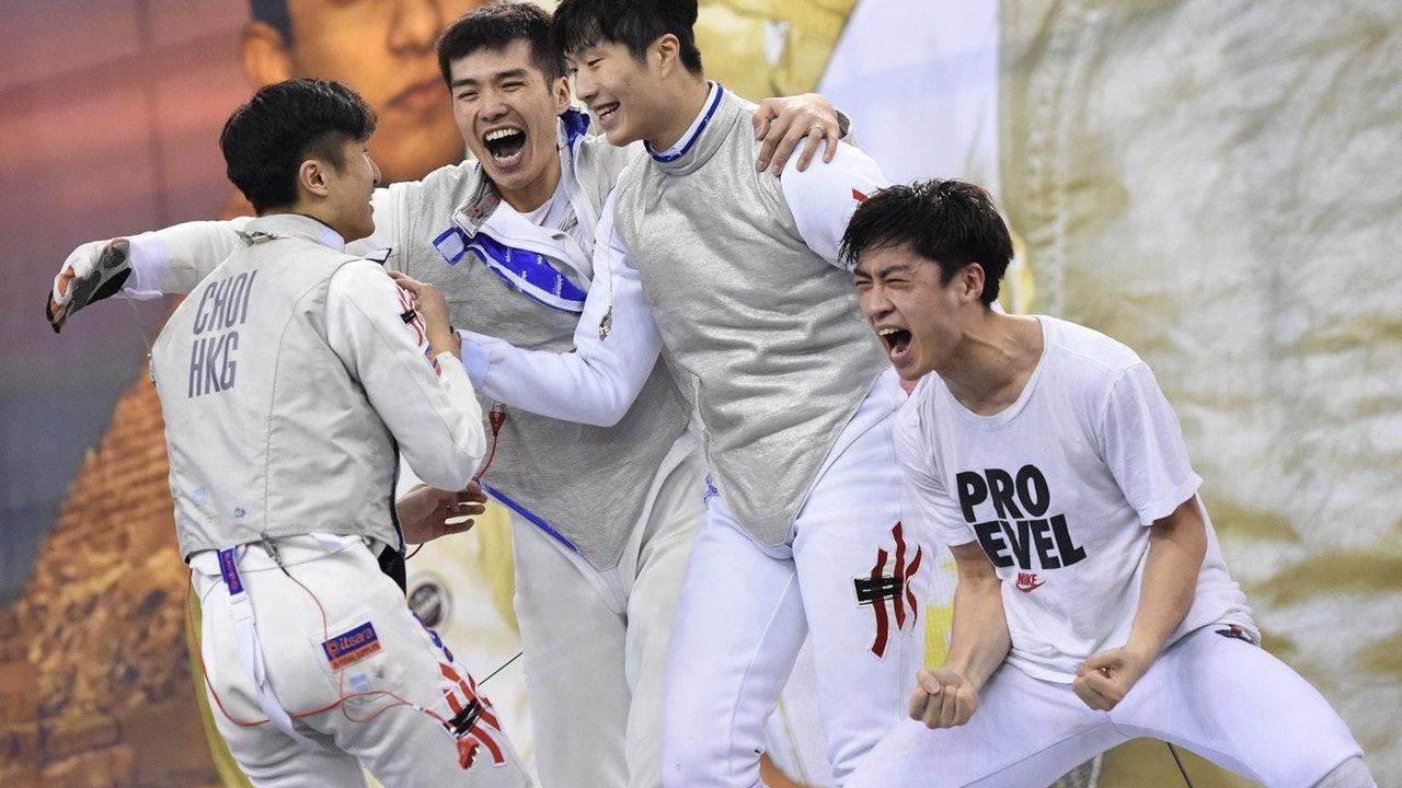 Tokyo Olympics.  Hong Kong team's latest ︱ male foil team debut in the morning, female flying fish He Shibei scrambling to advance-Hong Kong 01