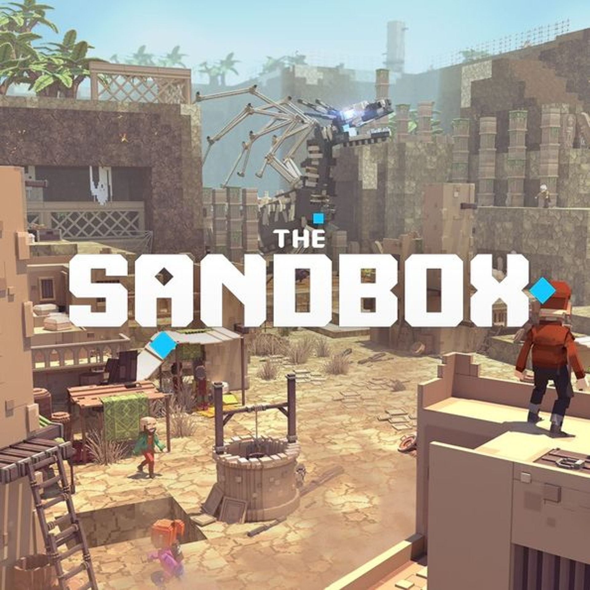 《The Sandbox》遊戲介面。(Animoca Brands提供)