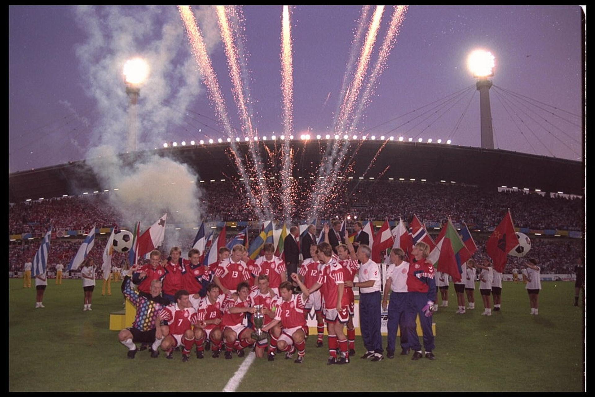 1992歐國盃冠軍:丹麥(20人名單)–26.9歲(Getty Images)