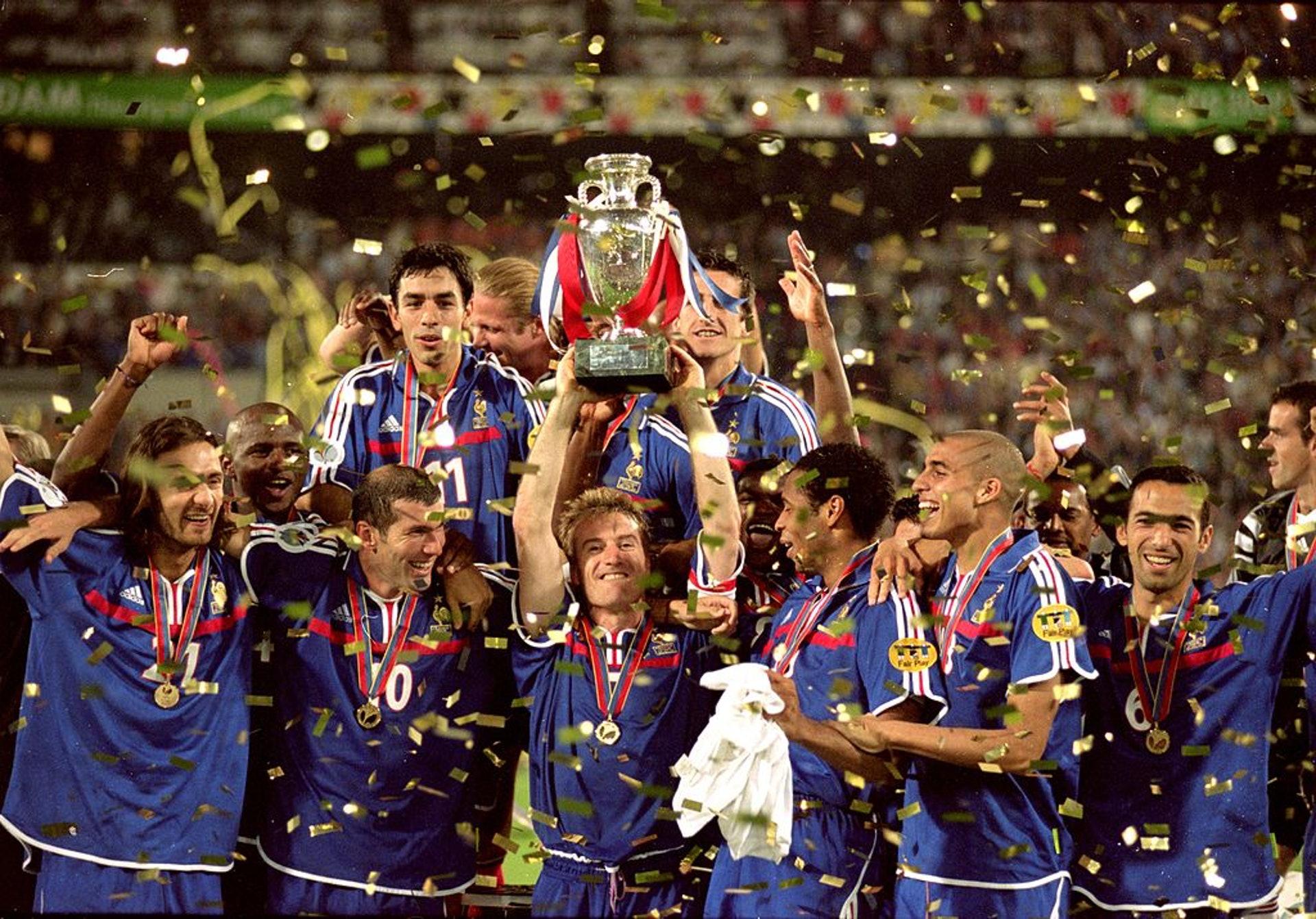 2000歐國盃冠軍:法國(22人名單)–27.95歲(Getty Images)