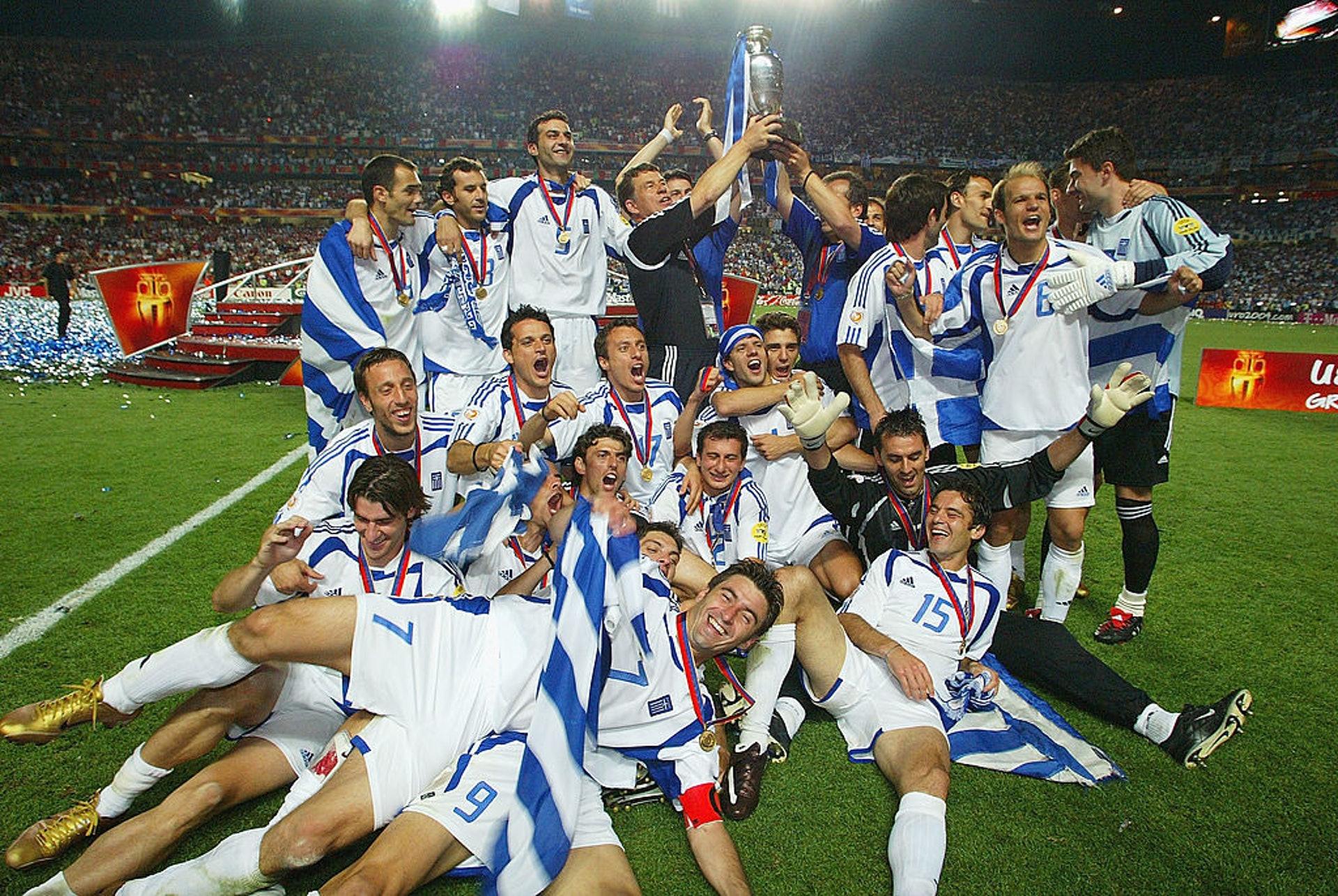 2004歐國盃冠軍:希臘(23人名單)–28.35歲(Getty Images)