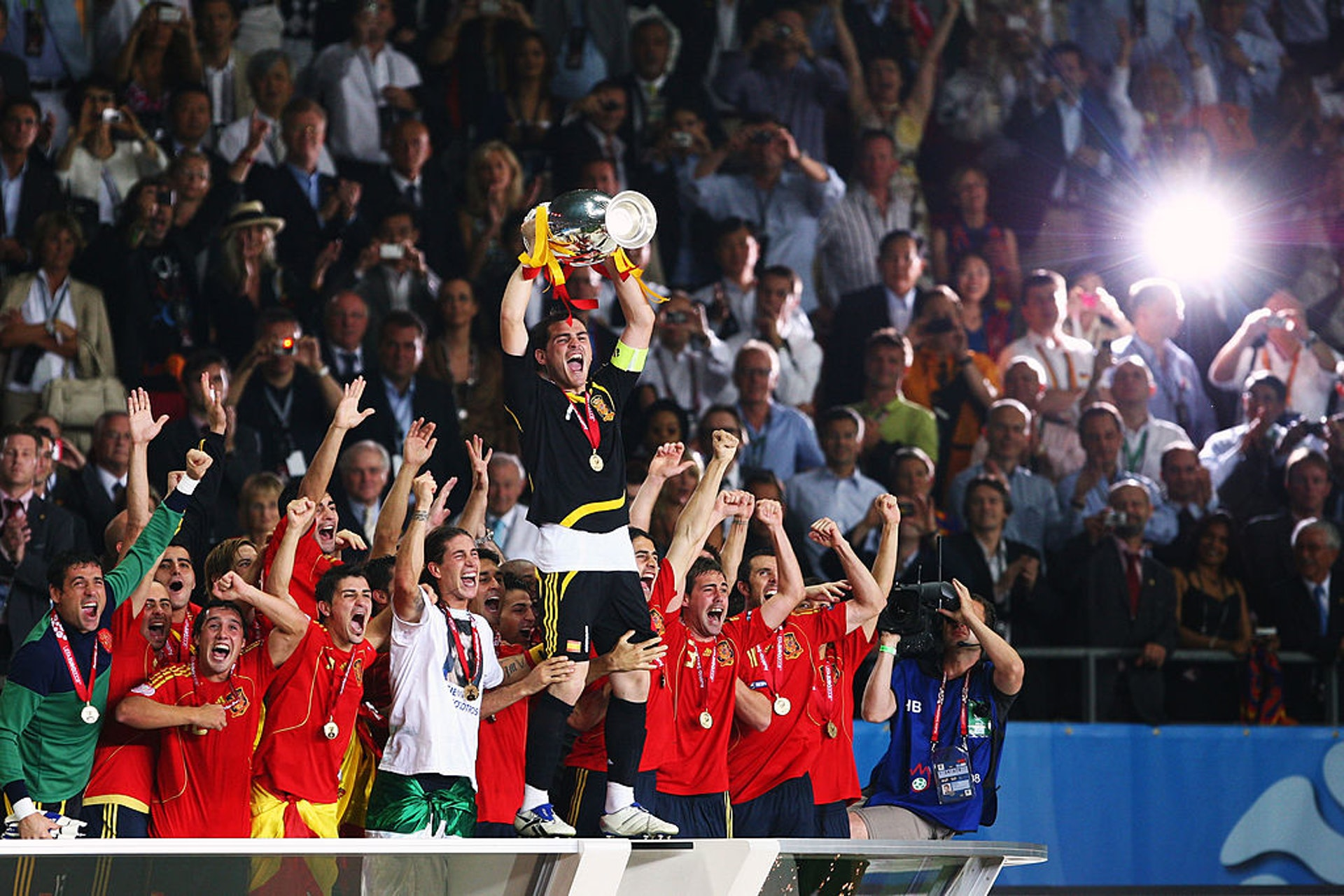 2008歐國盃冠軍:西班牙(23人名單)–26歲(Getty Images)