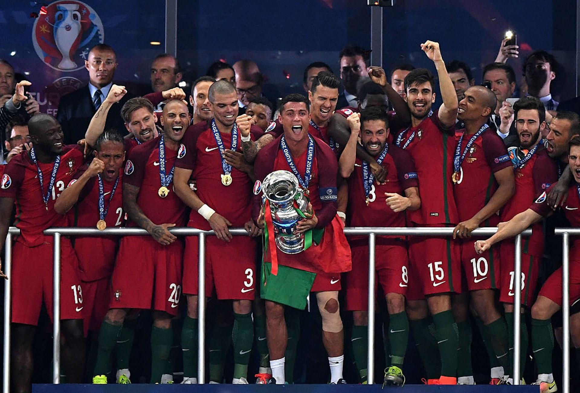 2016歐國盃冠軍:葡萄牙(23人名單)–27.87歲(Getty Images)