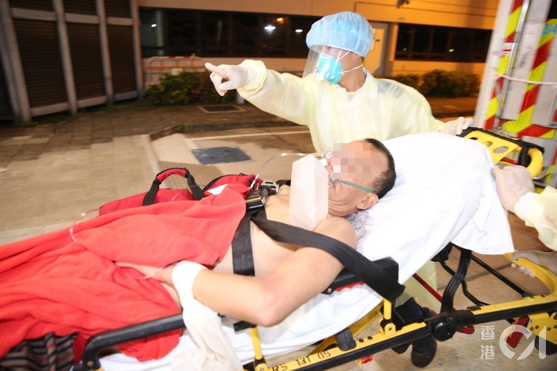 大埔三屍命案|62歲男疑兇傷勢嚴重警方尋獲懷疑兇刀|香港01|突發