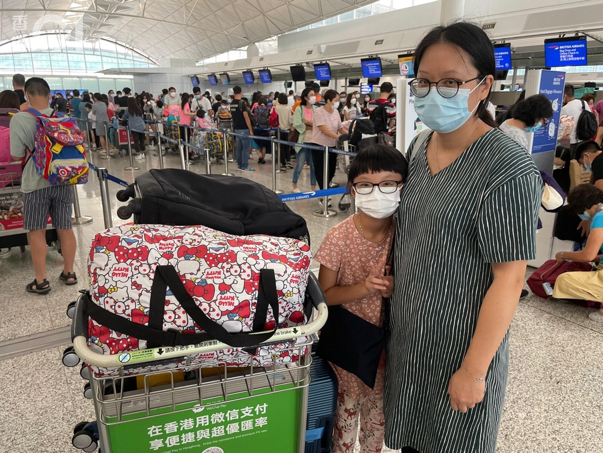 李小姐表示政策是選擇移民的主要原因。(雲嘉晉攝)