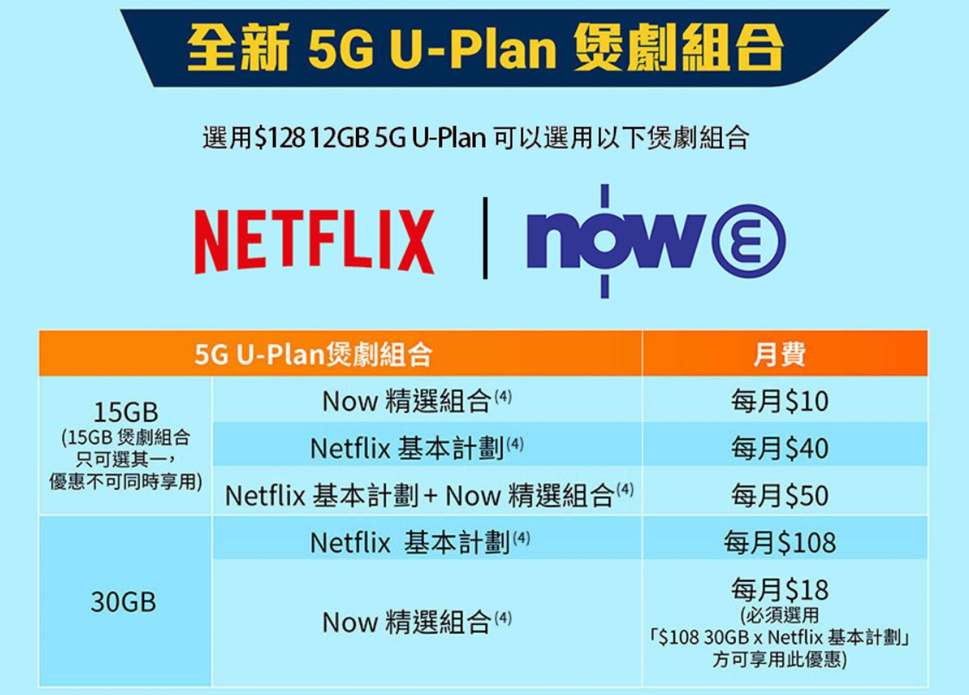 【6大學生Plan推介】csl.大專生5G Lite U-Plan(csl.網頁圖片)