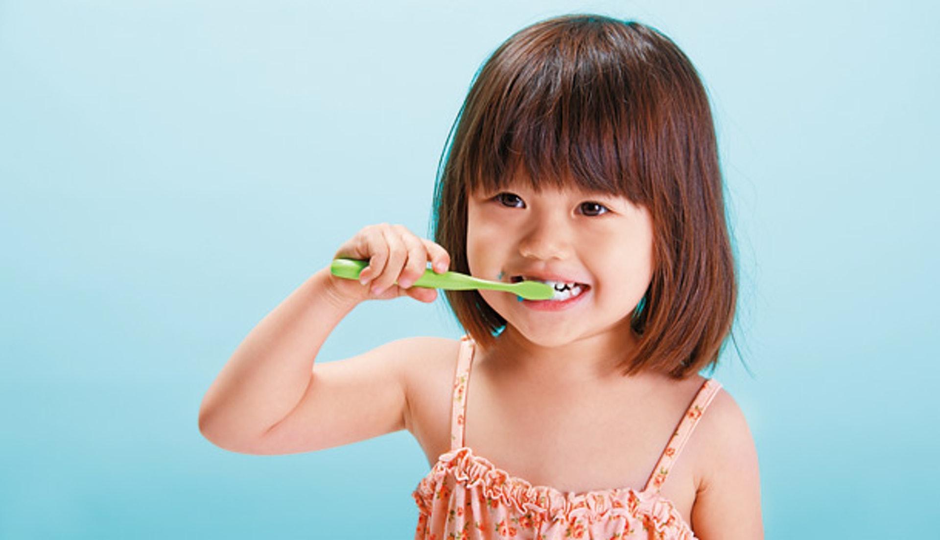 小朋友應從小培養正確的刷牙觀念。(圖片:Common health)