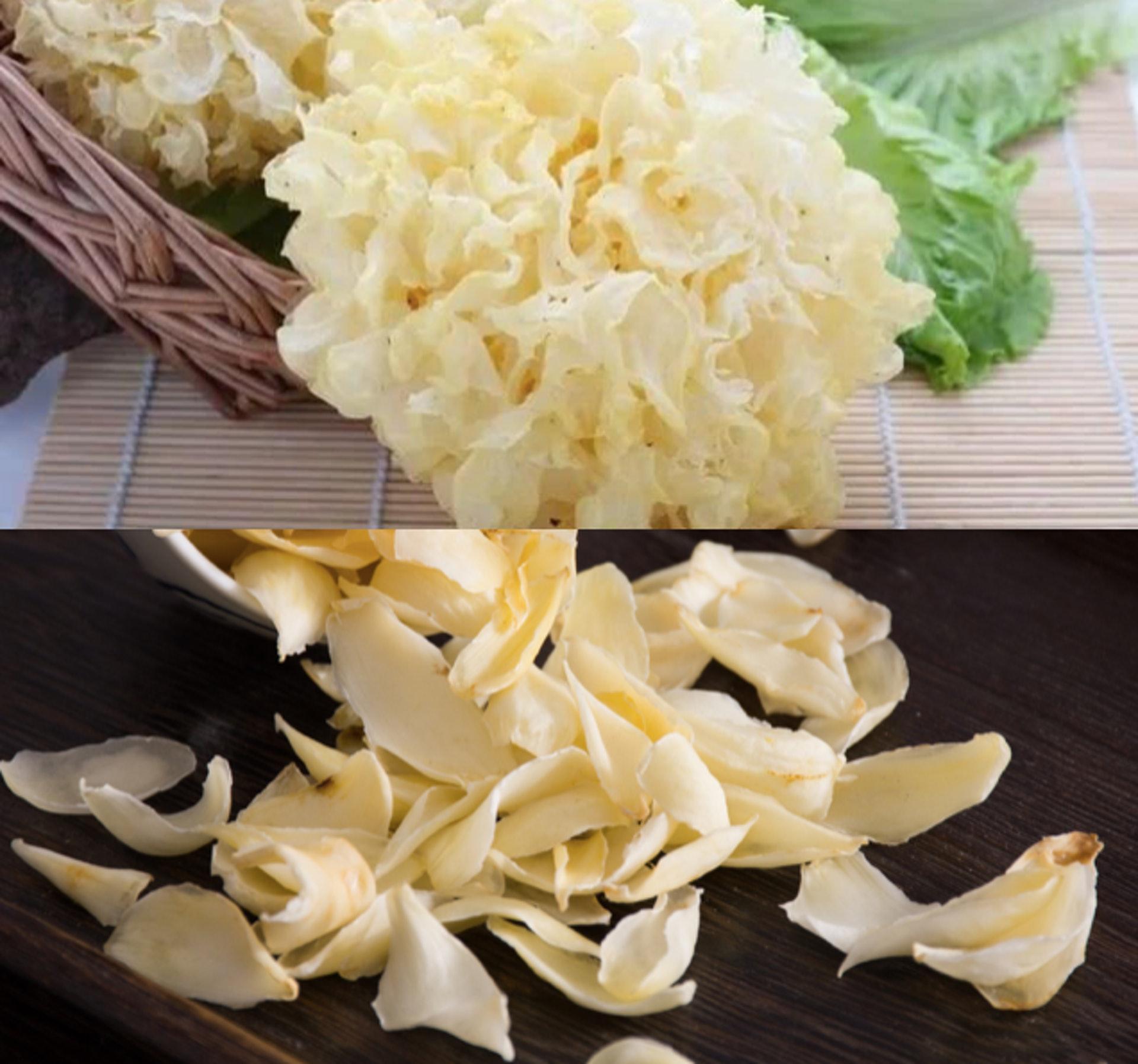 百合和雪耳是白色食物,有潤肺作用, 同時也是女士美顏首選。(圖片:shutterstock, sharetify)