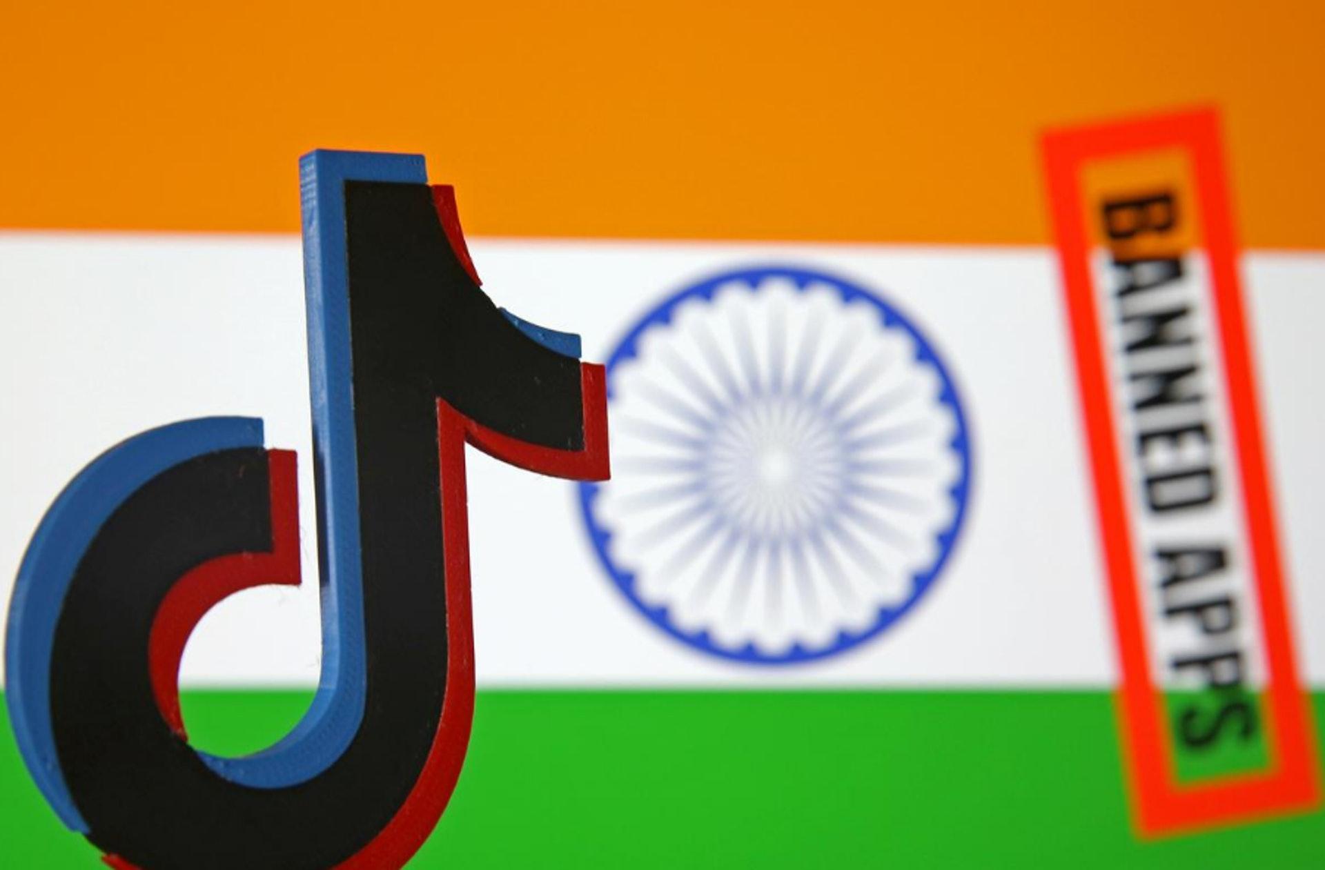 印度政府将永久封禁59款中国APP,其中包括抖音海外版TikTok。 (Reuters)