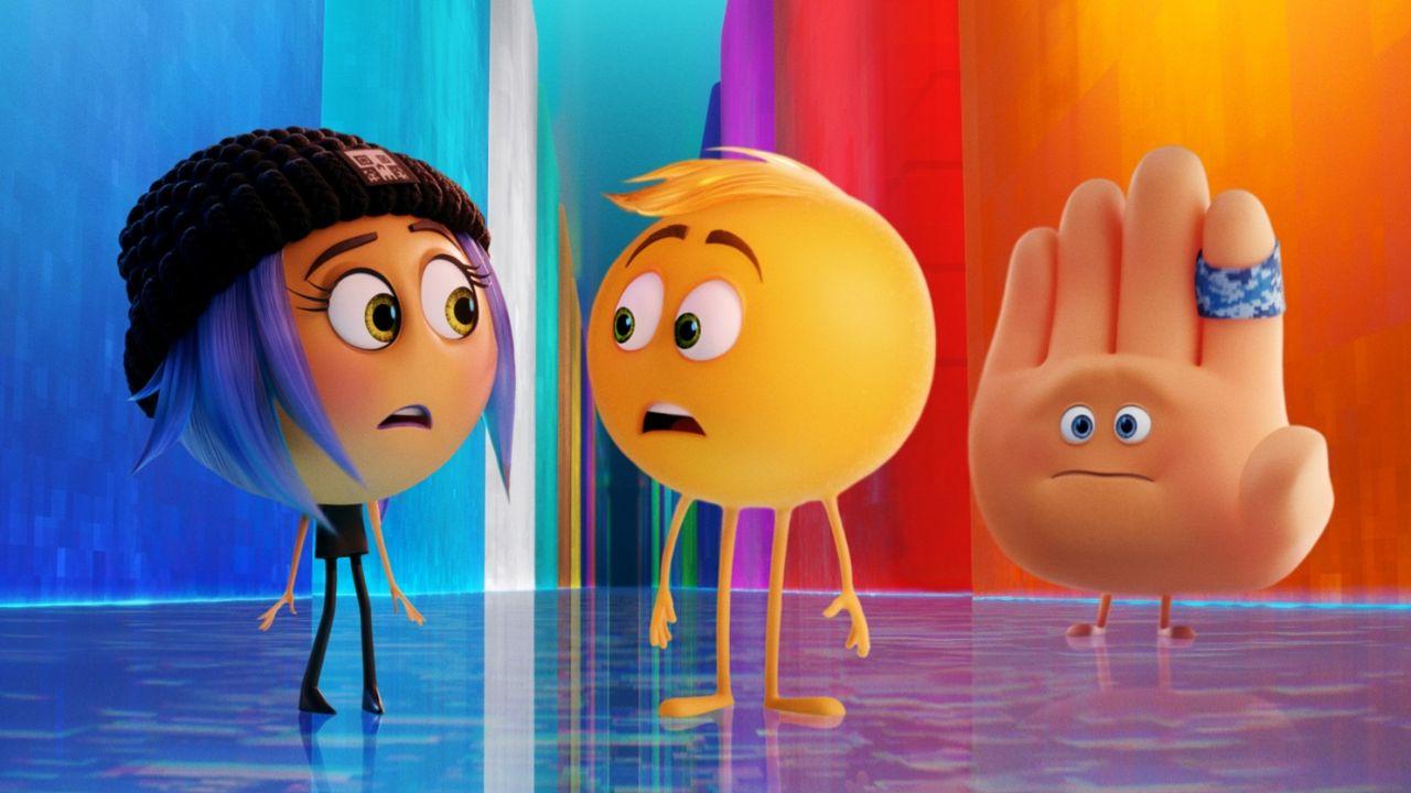 荷里活動畫《 Emoji大冒險》(The Emoji Movie)點評:華麗千變萬化的手機世界、賣萌可愛的Emoji人物也不能彌補單調乏味的劇情設定