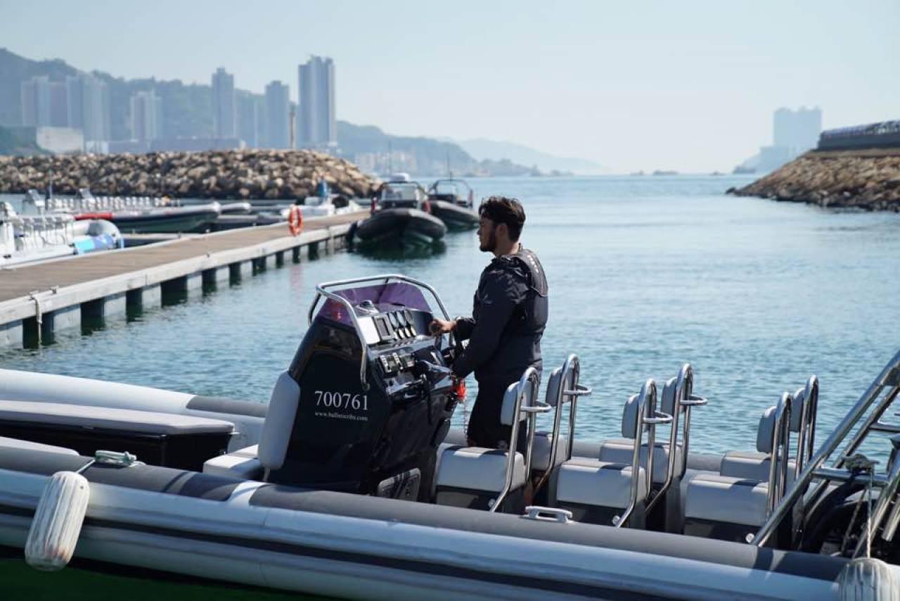 香港作�榄h球帆船�其中一��分站,主�k�挝慌e�k嘉年�A,�公��J�R帆船�\�印#ㄈ~�敏�z)