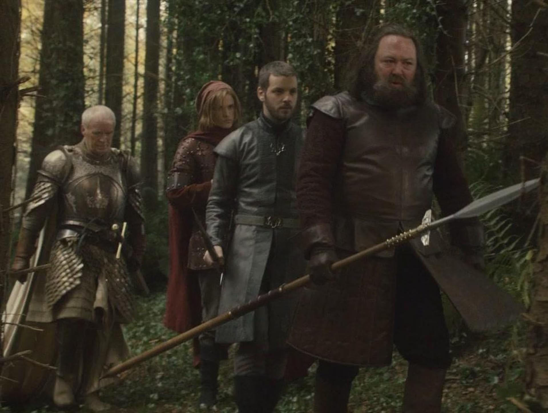 (《Game of thrones》 中慘死在野豬下,拿著野豬矛的國王Robert。 圖片來自:http://gameofthrones.wikia.com/wiki/Robert_Baratheon)