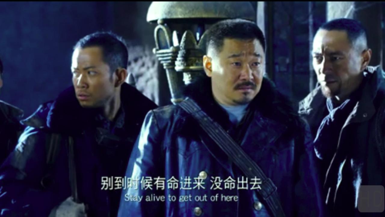香港演員除了敖嘉年(左一),還有另一個熟悉的面孔姜皓文(右一)。